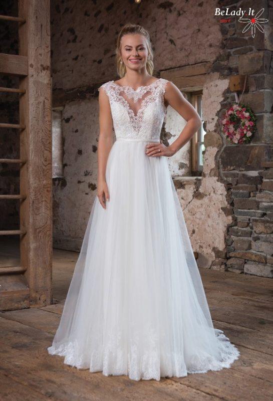 Jaunatviška vestuvinė suknelė