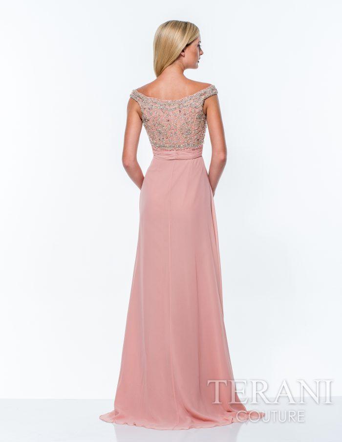 Rožinė proginė suknelė