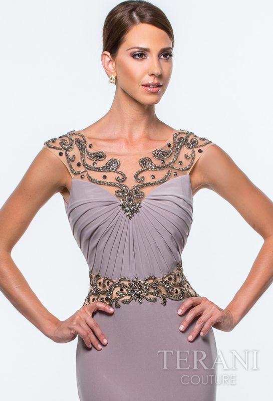 Prabangi proginė Terani Couture suknelė 151M0356
