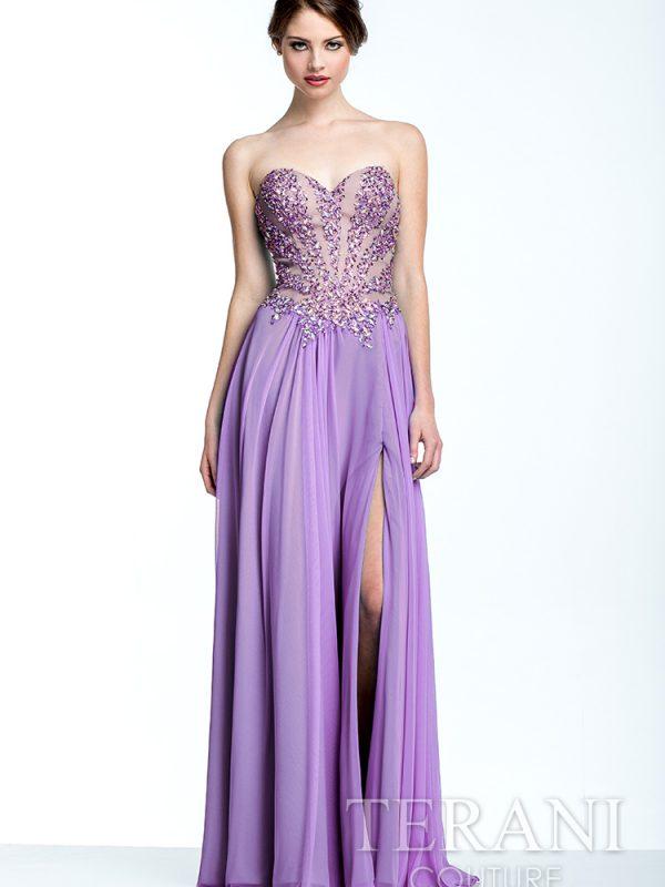 Ilga proginė suknelė išleistuvėms 151P0037-back