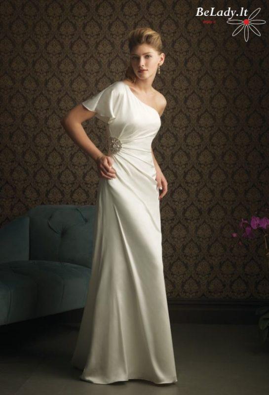 vestuvinė suknelė per vieną petį 31_943F