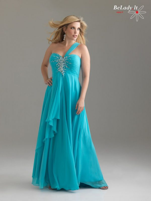 Lengva proginė suknelė