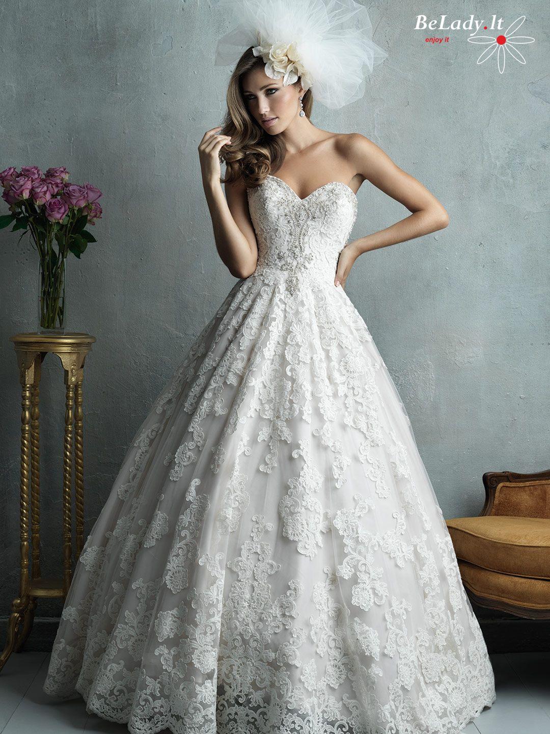 Prabangių vestuvinių suknelių nuomai C328F
