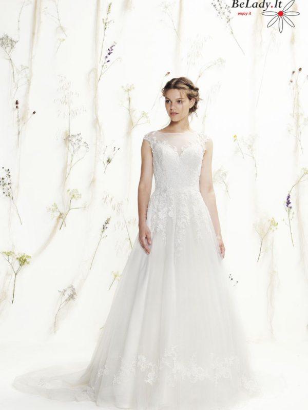 Vestuvine suknele nuleistais peciais
