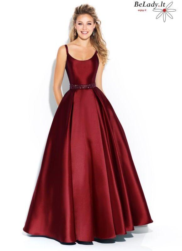 Burgundiška suknelė 17-240