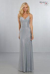 Auksinė proginė suknelė nuomai 21555