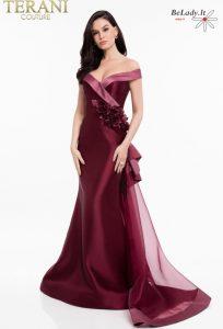 Proginė suknelė su šleifu 1821M7558