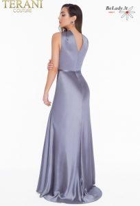 Proginė suknelė atvirais pečiais 1822E7286