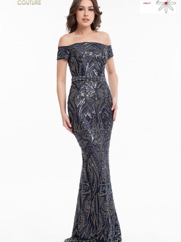 Proginių suknelių nuoma mėlyna suknelė