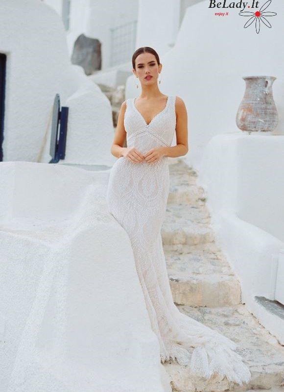 Boho vestuvinės suknelės 2020 kolekcija