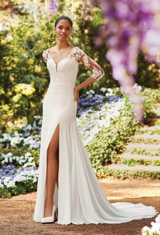 Vestuvine suknele su rankovemis nuoma