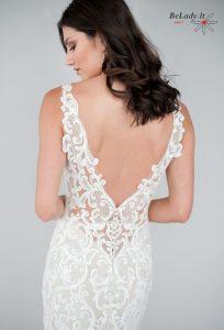 Undinėlės formos vestuvinė suknelė nuomaiL458B