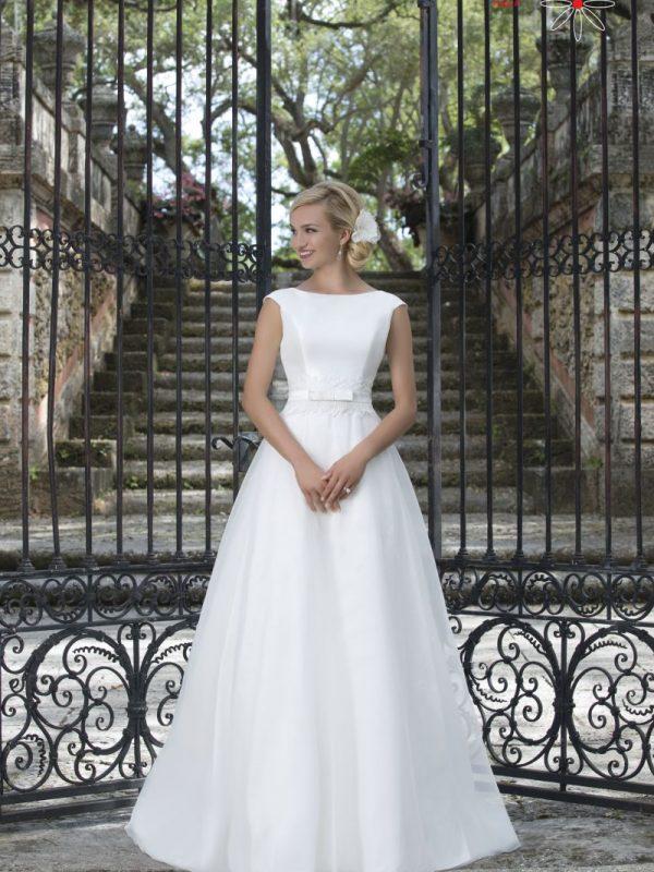 Mikado vestuvinė suknelė