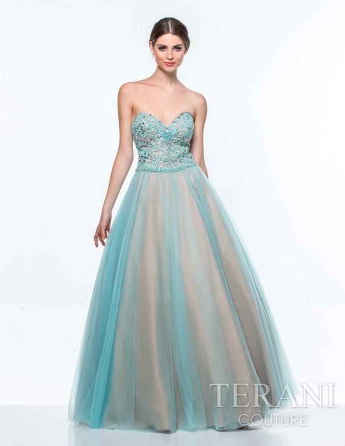 Pūsta proginė suknelė žalsvos spalvos suknelė
