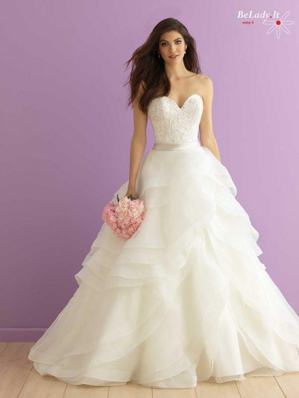 vestuvinė suknelė atvirais pečiais 15_2905F