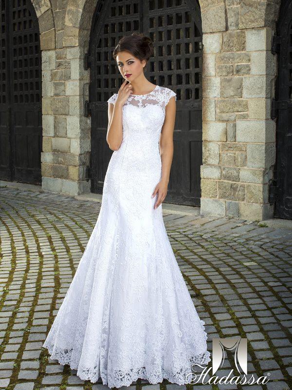 Balta vestuvinė suknelė 9_jador