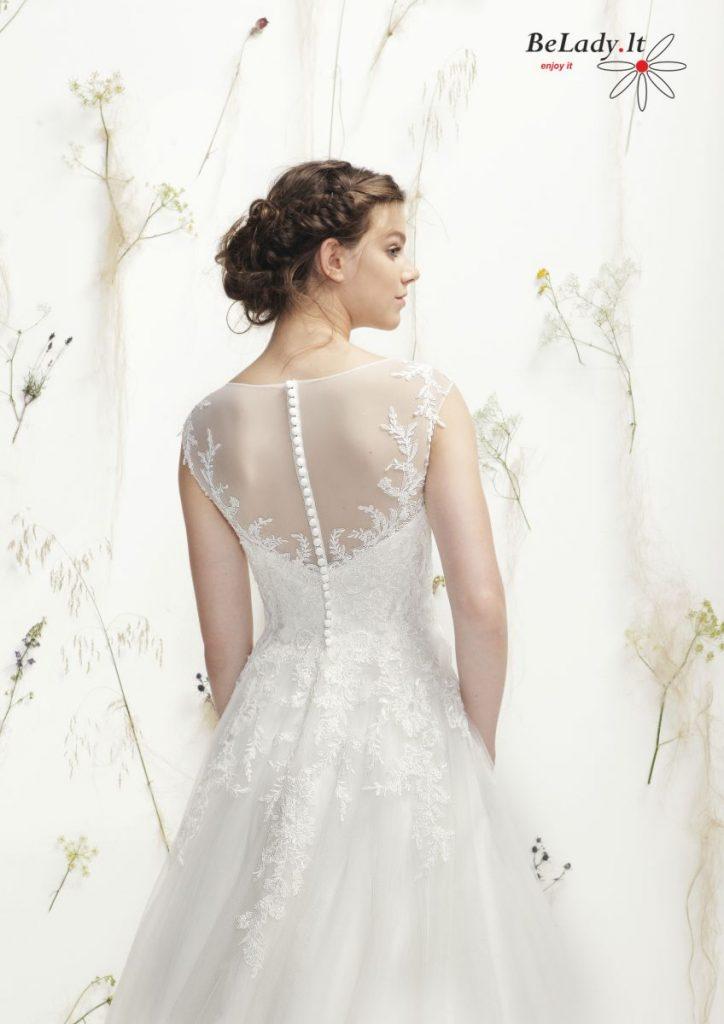A formos vestuvinė Justin Alexander suknelė 6404