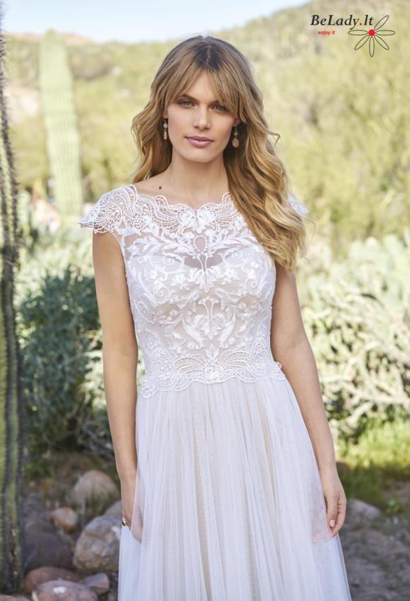 Vestuvinė suknelė Justin Alexander 6514 boho stiliaus