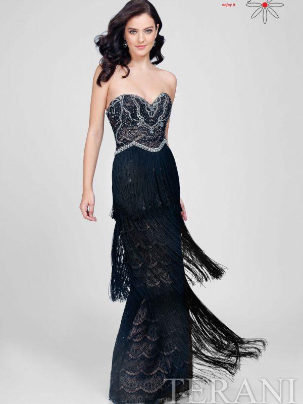Retro stiliaus Proginė suknelė su kutukais