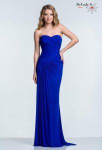 Mėlyna proginė suknelė 1521e0388