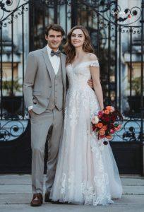 Prabangi vestuvinė suknelė