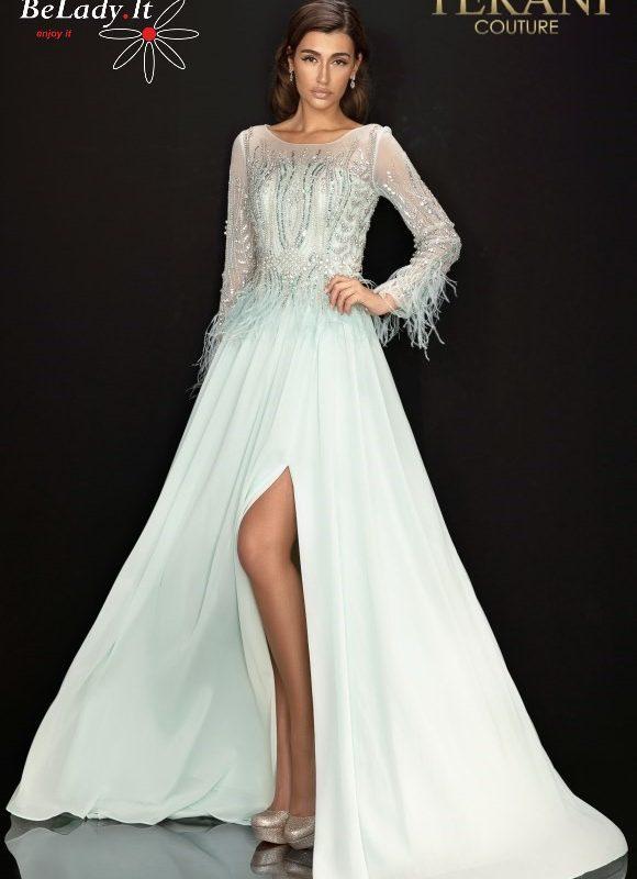 Proginė suknelė nuotakos mamai vestuvems