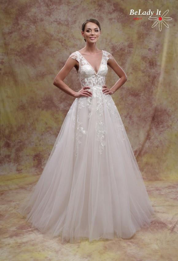 Blizganti vestuvine suknele 2021